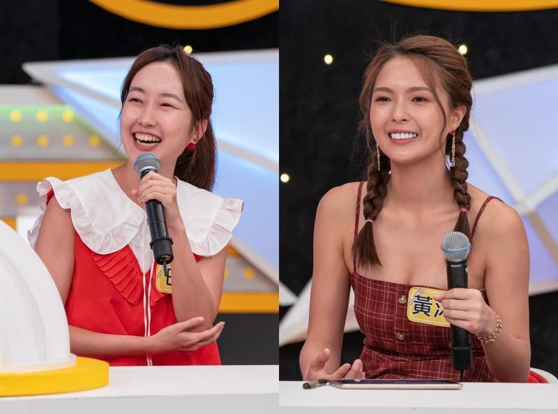 巴鈺(左)、黃沐妍強調出國前應該先做好功課,在陌生環境要避免落單,錢財盡量分不同地方存放,才能分散風險。(TVBS提供)