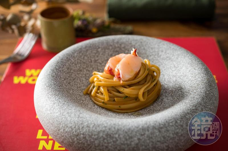ANiMA雖然無菜單,但套餐中固定有義大利麵。