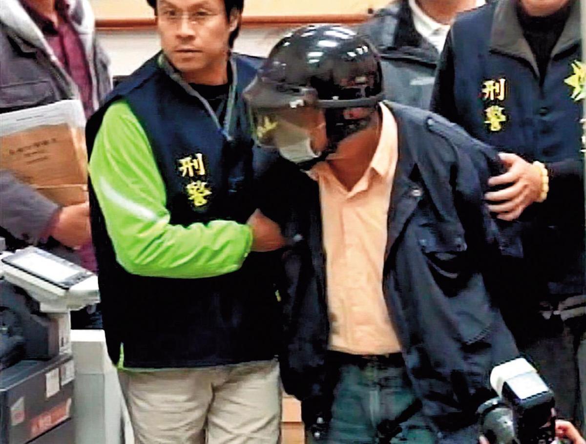 蔡維琦最後俯首認罪,被警方移送偵辦。(東森新聞提供)