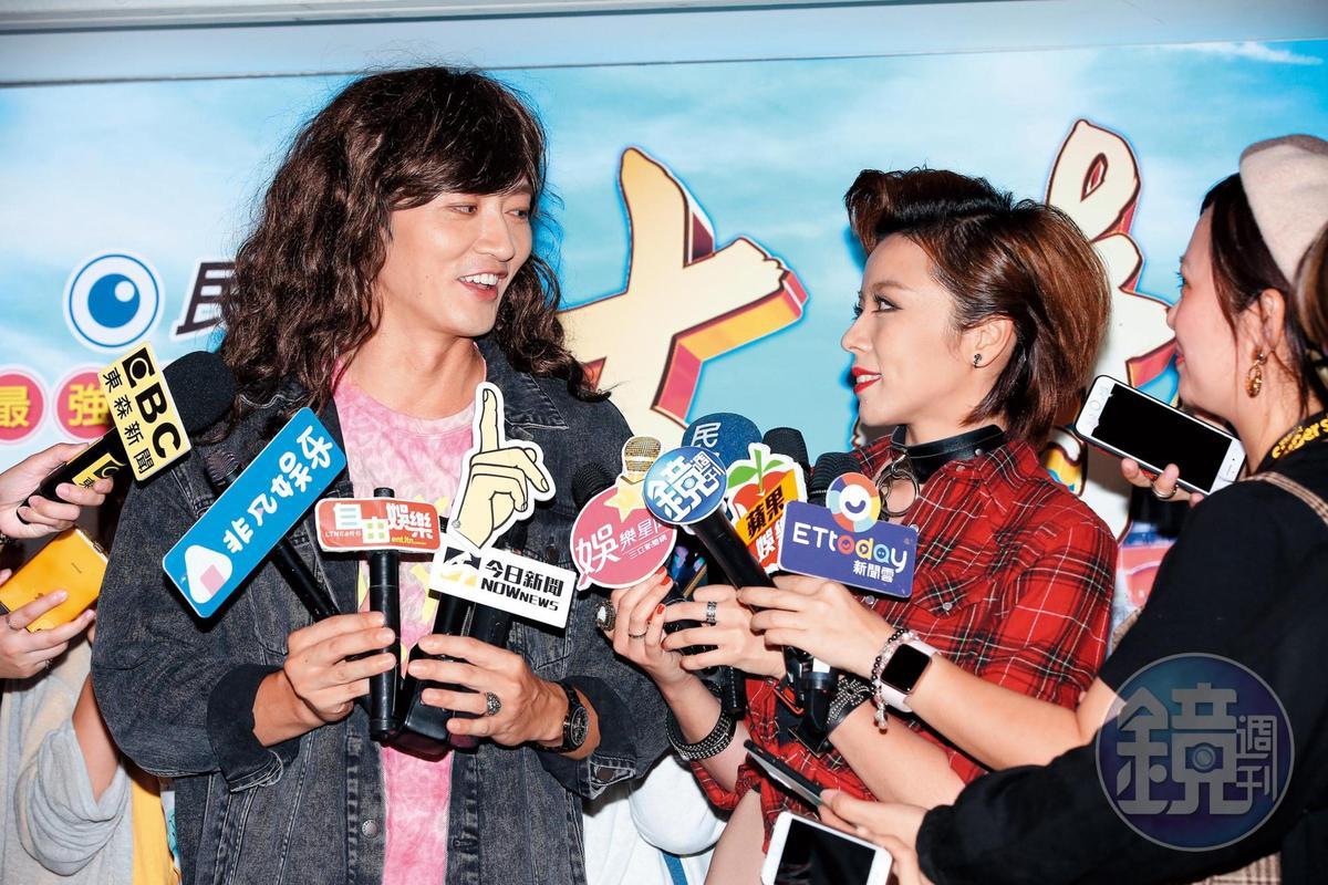 日前《大時代》殺青宴,馬俊麟和王瞳同台受訪,當時兩人表示戲散人散,之後各自有工作要忙。