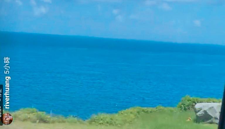 黃河跟温貞菱雖然低調,但也會在出遊時,各自po出同個場景的照片,默默曬恩愛。(翻攝自溫黃河IG)
