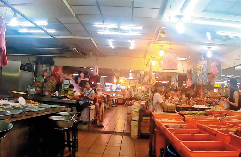 台灣身心障礙人協會其中一處地址,位於台北市大同區的蘭州市場內。
