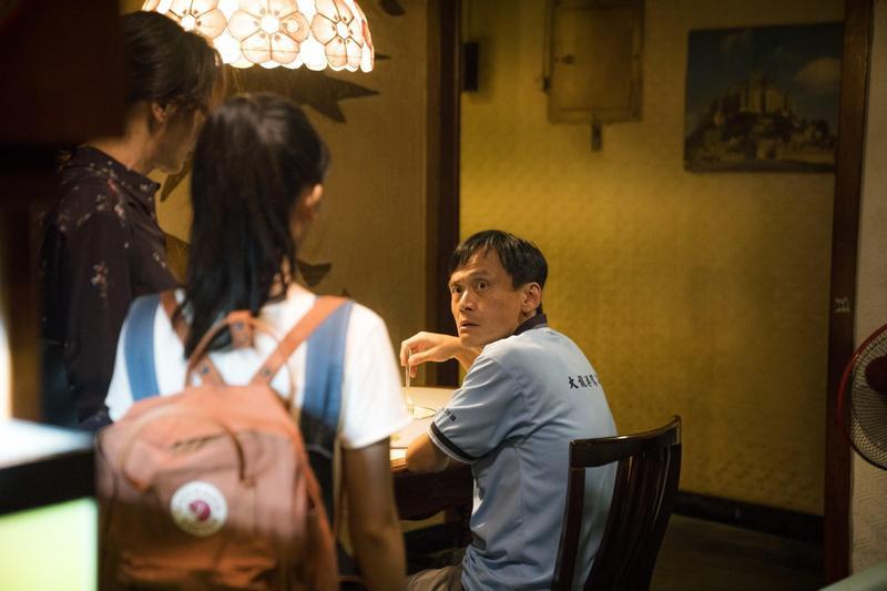 鍾孟宏執導、陳以文(右)主演的《陽光普照》在今年金馬獎獲最佳影片、原著劇本與男女主角、配角等11項提名。(甲上提供)