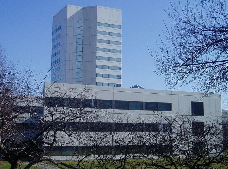 美國嬌生公司位於紐澤西州新布朗斯維克的總部大樓。(翻攝維基百科)