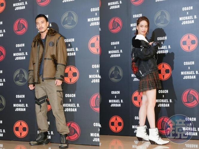陳庭妮、王陽明雖然都沒看《火影忍者》,但是看到聯名系列服裝立刻開心的穿上分享。