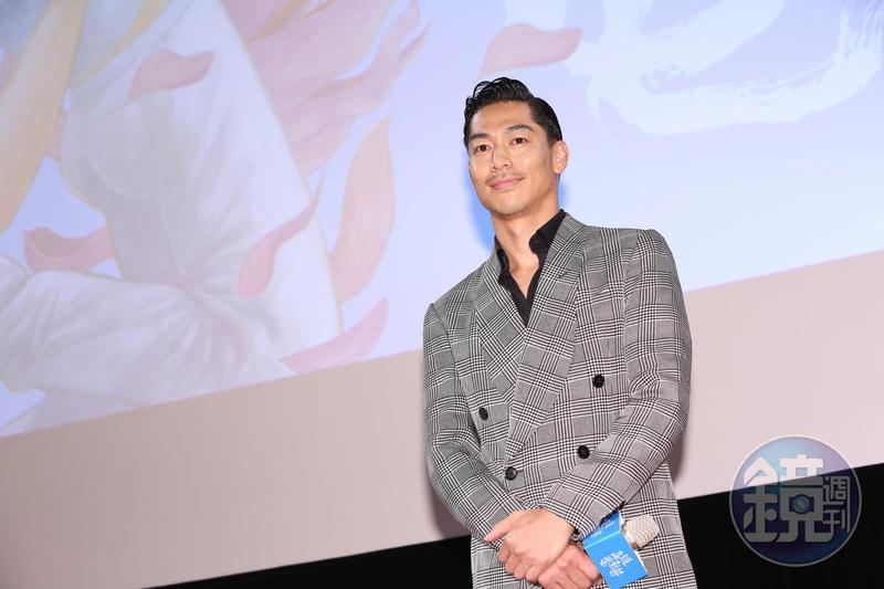 雖然放映結束時間已經深夜,Akira還是出席映後座談,談吐親切又風趣。