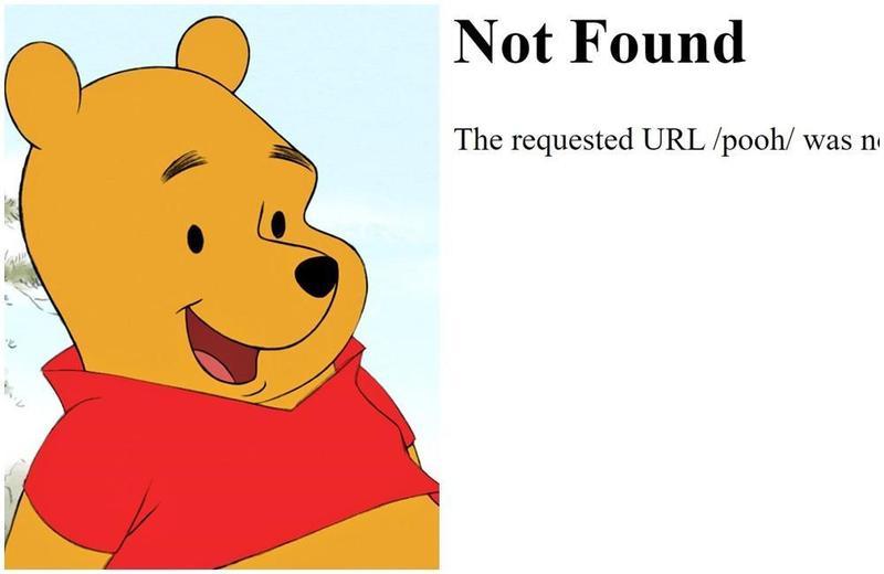 迪士尼被網友發現,小熊維尼恐因得罪習近平從官網上被消失了。(翻攝自Winnie the Pooh粉絲專頁、迪士尼官網)
