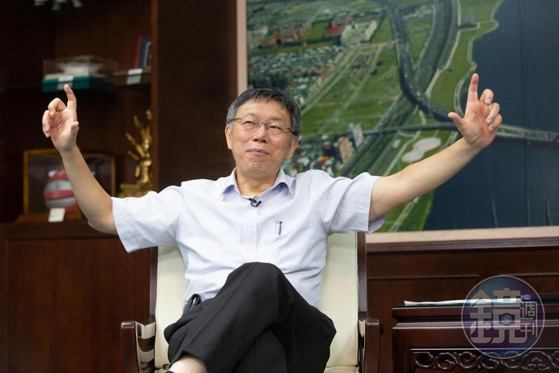 台北市長柯文哲日前接受媒體訪問時直言,「時代力量已經被民進黨『消化掉了』」。