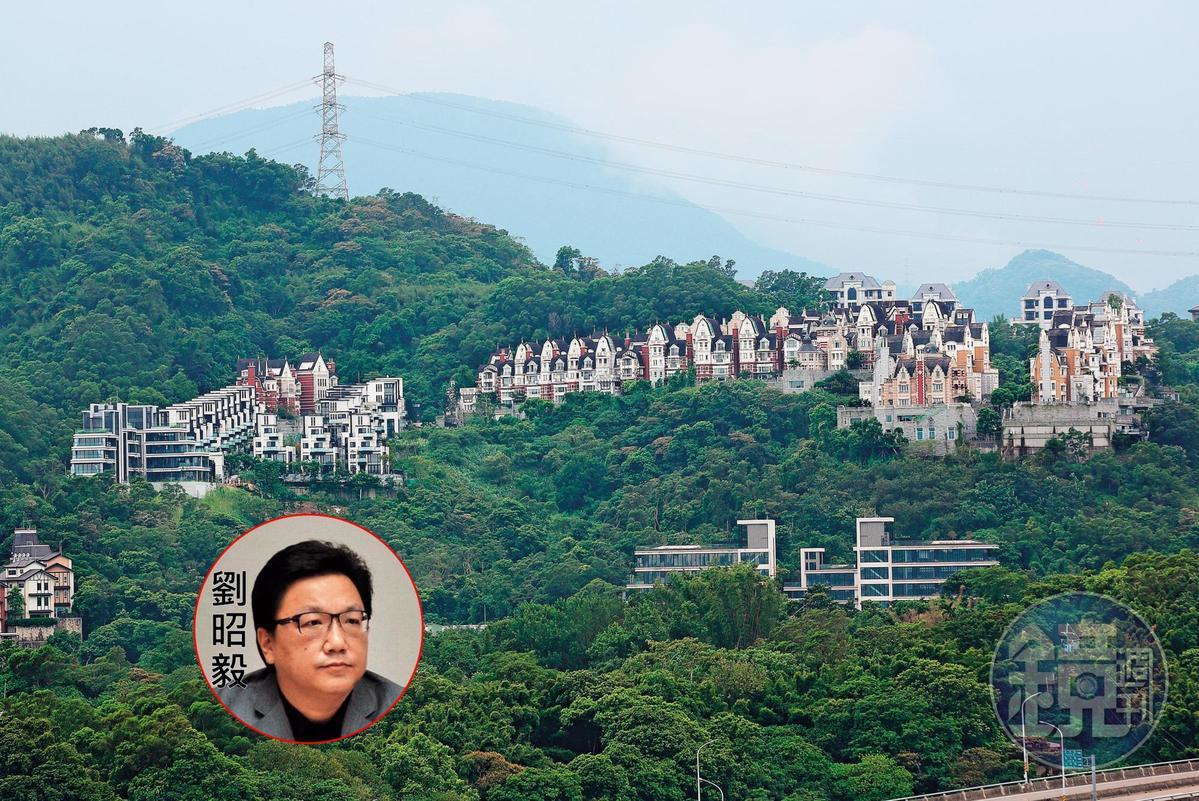 劉泰英長子劉昭毅(圖)位於新北市新店青山鎮的房子,8月遭以6,106萬餘元法拍賣出。