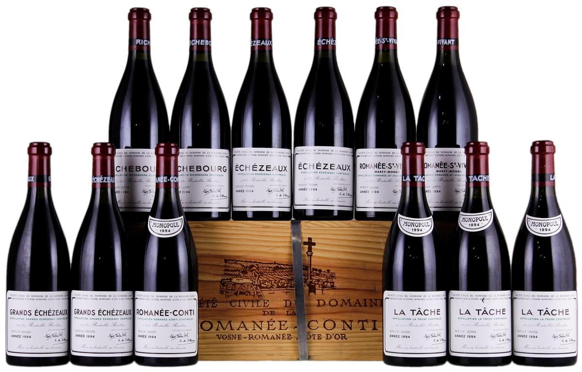 Breeze Super南山旗艦店限量1組 法國頂級酒莊羅曼尼康地 Domaine de la RomaneeConti特價3,058,888元組。
