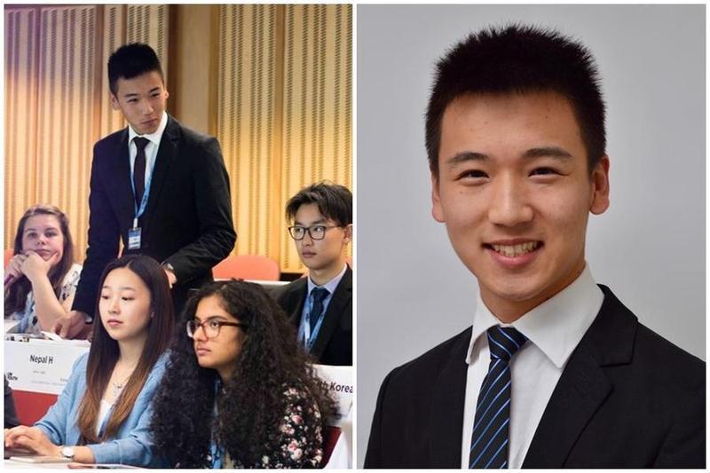 台裔紐西蘭籍的19歲青年王費雪,成為紐西蘭北島羅托魯市史上最年輕的市議員。(翻攝自Fisher Wang臉書)