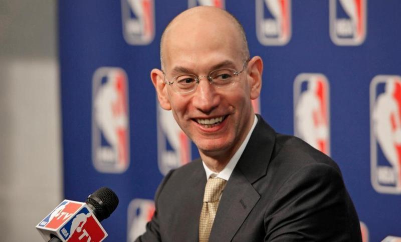 NBA總裁席佛證實中國政府要求其開除莫雷。(翻攝Adam Silver臉書)