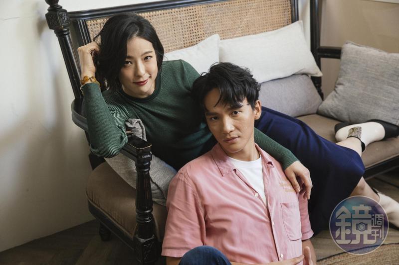 賴雅妍與曹晏豪在片中亦師亦友,關係時而緊繃時而密切,訪問時也很有默契。