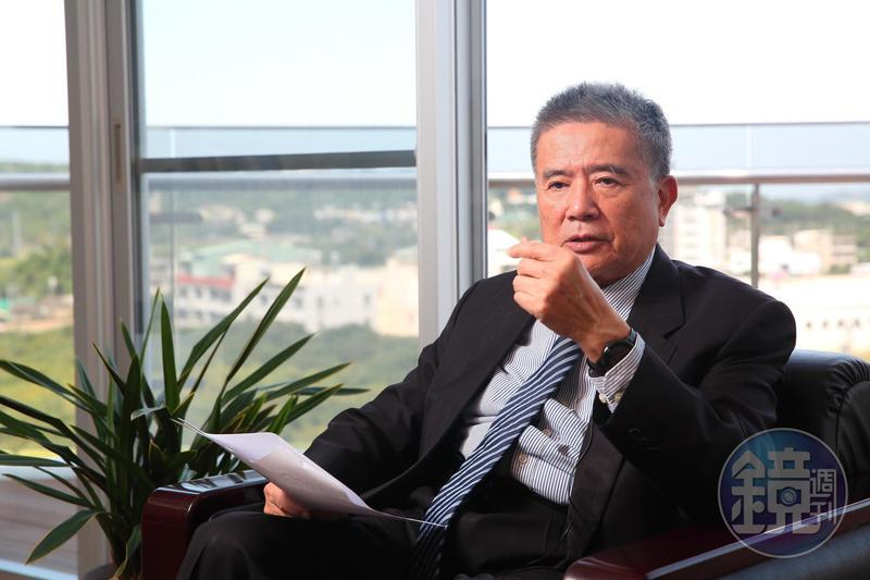 林明儒2000年接任豐興鋼鐵董座,在他帶領下,公司營運成績亮眼。