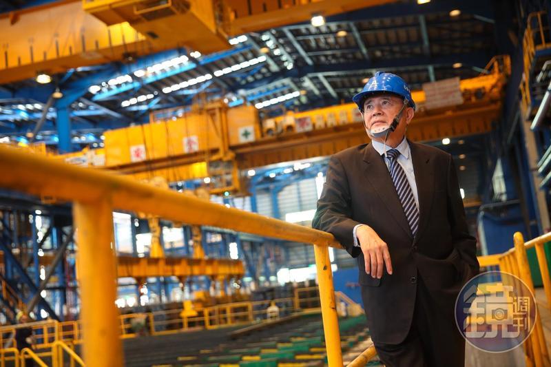 林明儒身兼台灣鋼聯董事長,他說台灣鋼聯是首家不露天處理集塵灰的公司。