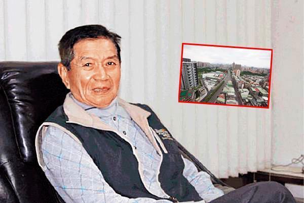擁有新北市上百筆土地的蔡城,生前被稱為「三重地產王」,身家逾百億元。(翻攝畫面)