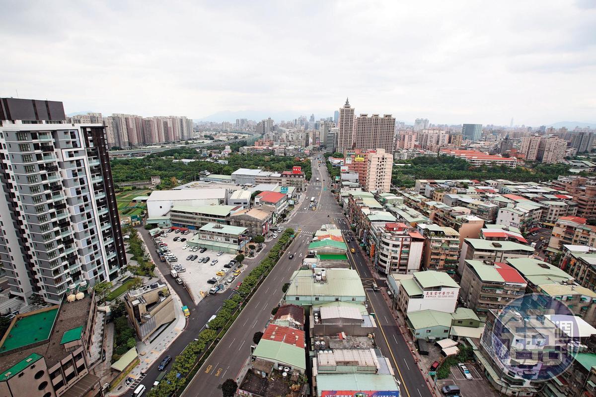 蔡城在新北市土城持有千坪土地,目前由二房掌握。