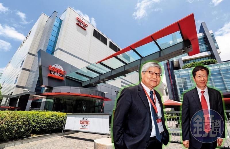 台積電先進製程技術領先全球,在董事長劉德音(左)及總裁魏哲家(右)帶領下,目前看不到競爭對手。