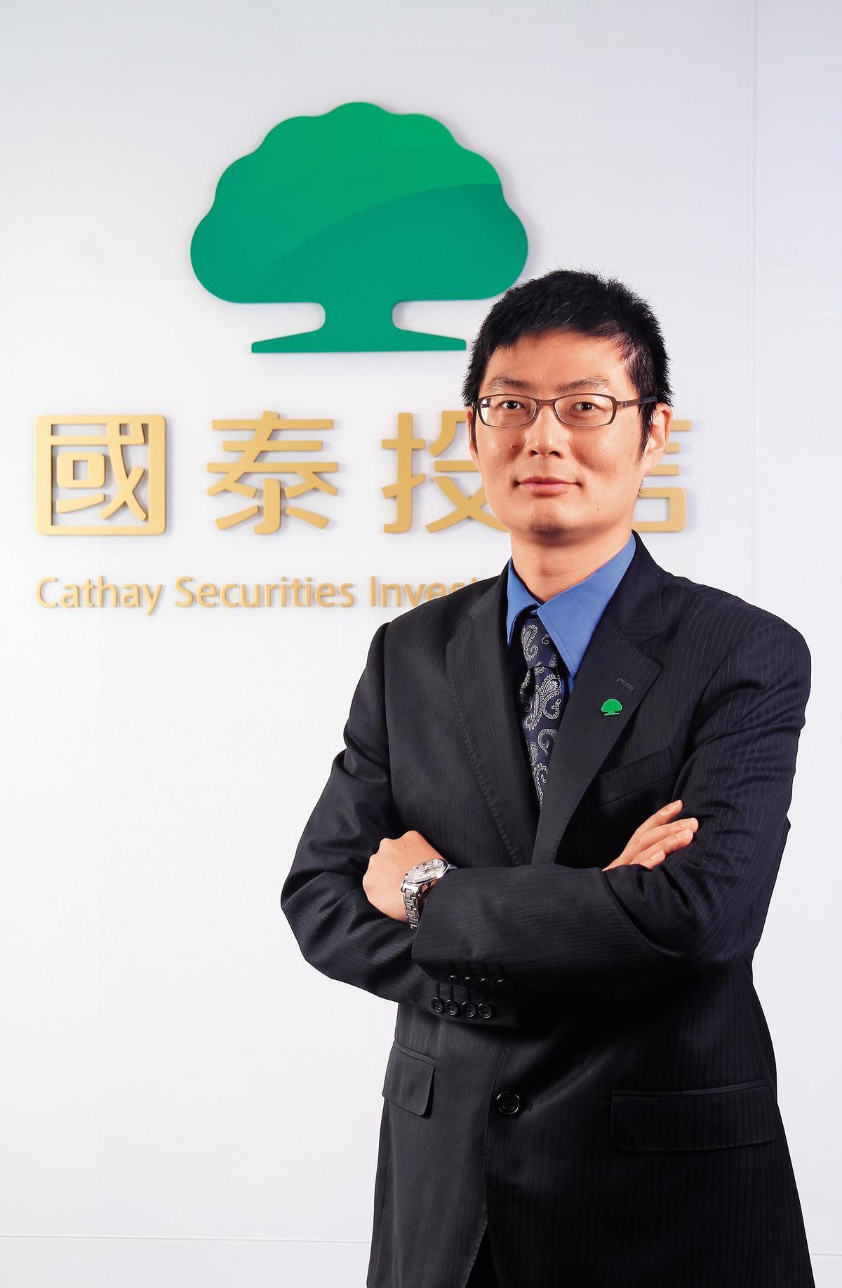 國泰大中華基金經理人陳怡光。(國泰投信提供)