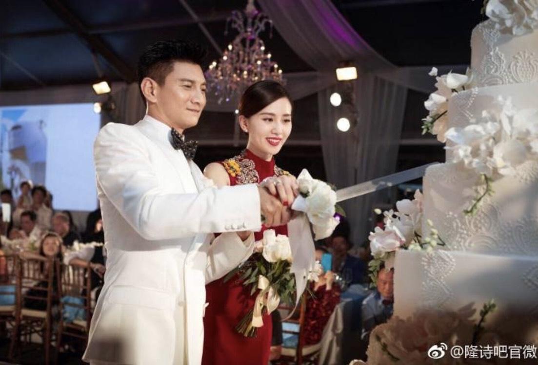 吳奇隆與劉詩詩在拍攝《步步驚心》後相戀結婚,但兒子卻被爆非吳奇隆親生。(翻攝微博)