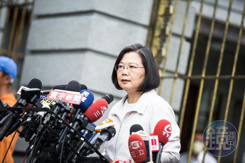 針對陳同佳在台涉嫌犯下港女箱屍案後續處理,總統蔡英文今日強調,此案只有逮捕沒有自首,既然香港不願行使管轄權,這件事就由中華民國台灣來處理。(本刊資料照)