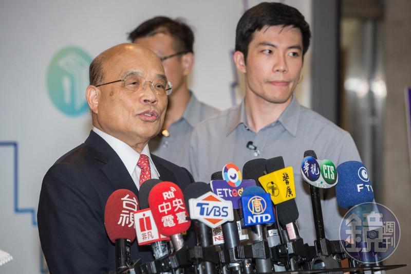 針對香港陳同佳案,行政院長蘇貞昌今日回應,既然香港不辦那就台灣辦,只要陳一入國門,一定把他抓起來。(本刊資料照)