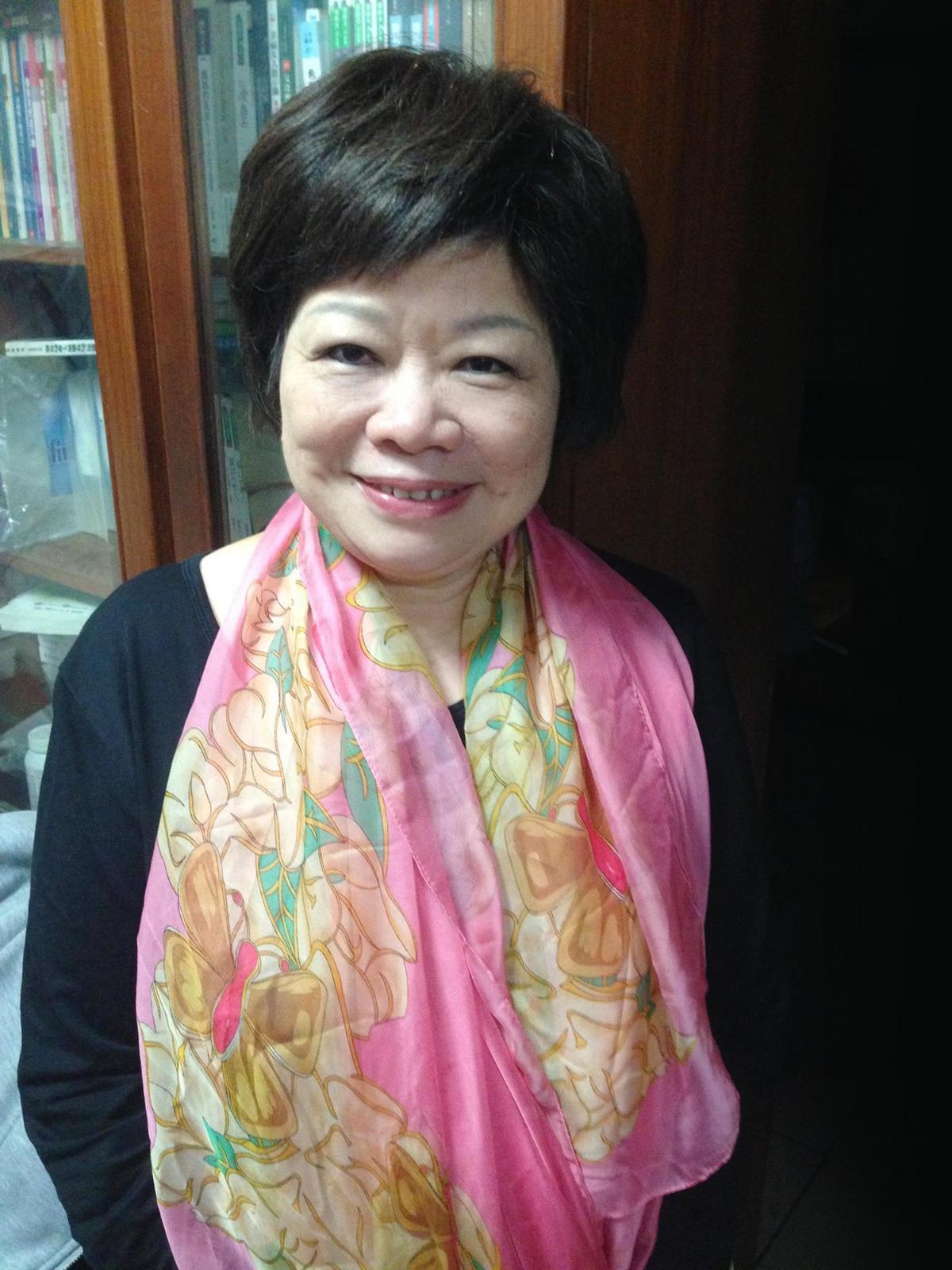 知名作家廖輝英對自己婚姻極不滿意,還曾為此大吵。(翻攝臉書)