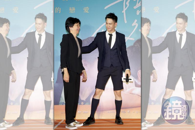 李淳首次當電影男主角,媽媽林惠嘉以「你是我這一生最大的禮物」一句送他,感動在場所有人。