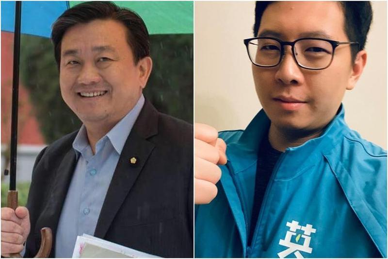 民進黨立委王定宇(左圖)和桃園市議員王浩宇(右圖)常被網友搞混。(翻攝自王定宇、王浩宇臉書)