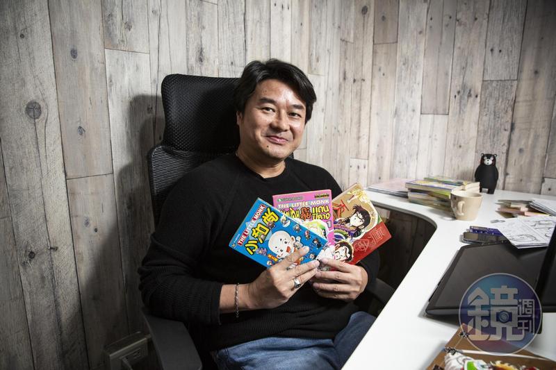 賴有賢的作品連載十年從未拖稿,助手阮光民也說他是很自律的漫畫家。