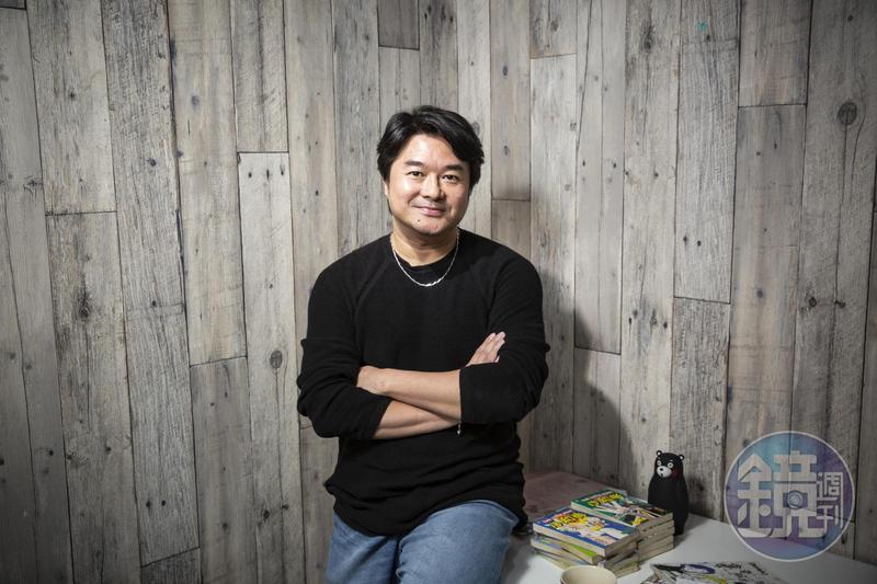 賴有賢代表作為《真命天子》《小和尚》,是九零年代最暢銷的台灣漫畫家之一。
