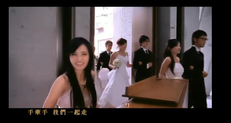 因陶喆、蔡依林的MV〈今天妳要嫁給我〉前往取景,麗庭莊園曾紅極一時。(翻攝自MV)