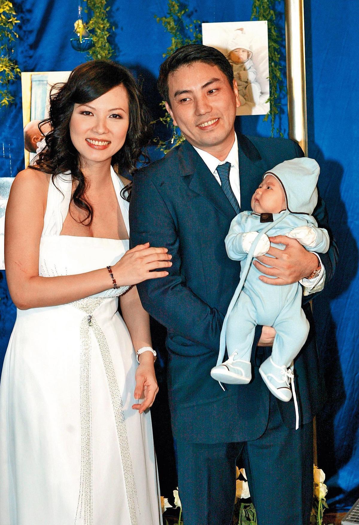 雖然陳孝萱與詹仁雄的婚姻短命,但離婚後男方也提供金援,把兒子給養大。(東方IC)