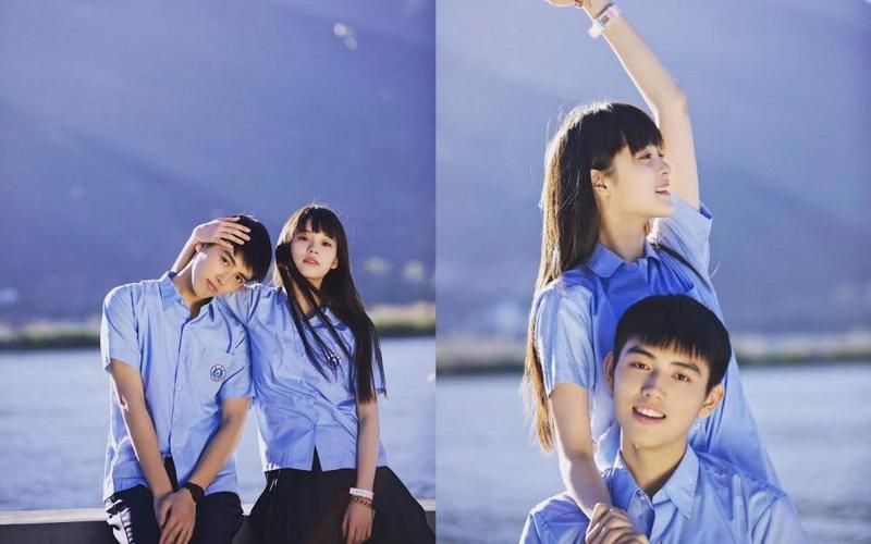 陳飛宇和歐陽娜娜合作《秘果》後,成為粉絲敲碗在一起的高顏值CP。(翻攝微博)