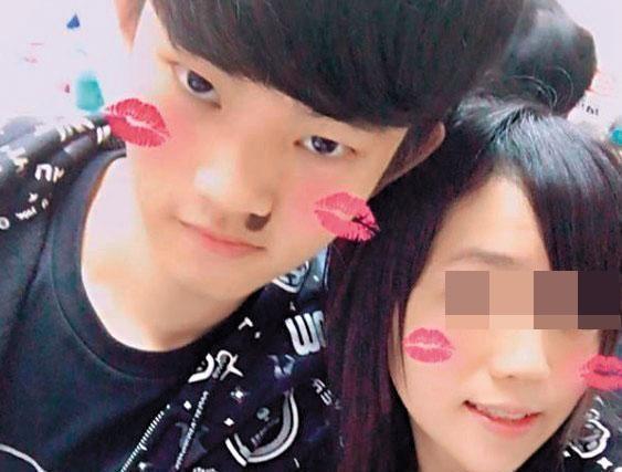 陳同佳(左)對自己的女友痛下毒手又裝箱棄屍。(翻攝自臉書)