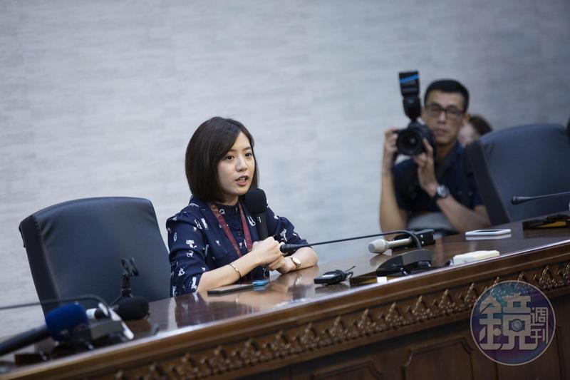 台北市政府副發言人「學姐」黃瀞瑩傳出遭市府顧問劉嘉仁言語騷擾。