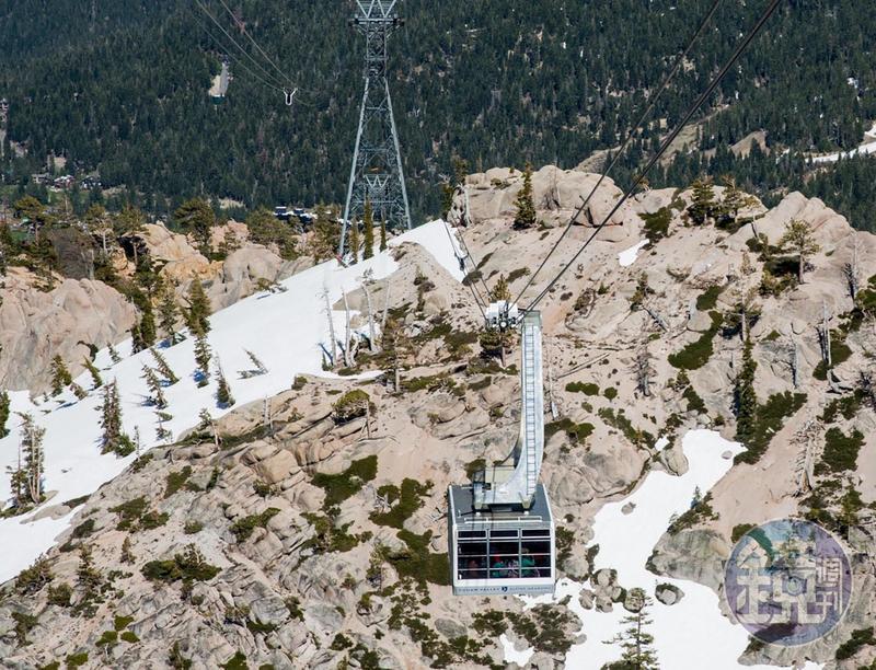 Squaw Valley是美國著名的滑雪勝地之一。