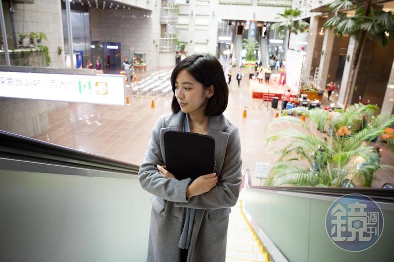 傳出市府顧問劉嘉仁可能涉及性騷擾事件,「學姐」黃瀞瑩僅低調回應,「細節就不多談了,因為全案已進入調查程序」。(本刊資料照)