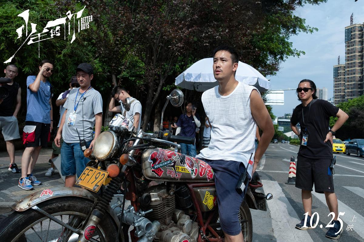 導演曾國祥繼《七月與安生》後,又交出一齣佳作。(電影少年的你官博)