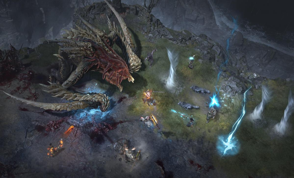 暴雪正式公開《暗黑破壞神IV》。