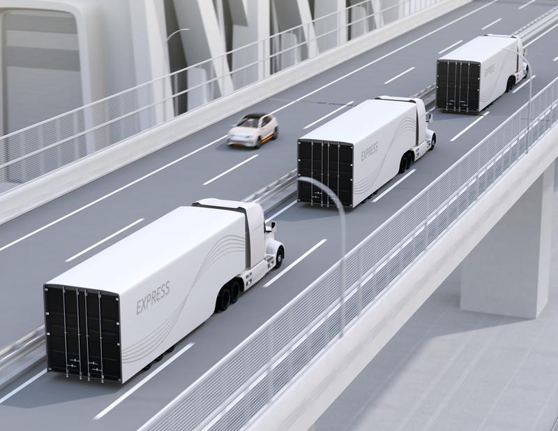 多國廠商正投入研發貨運自駕系統。(東方IC)