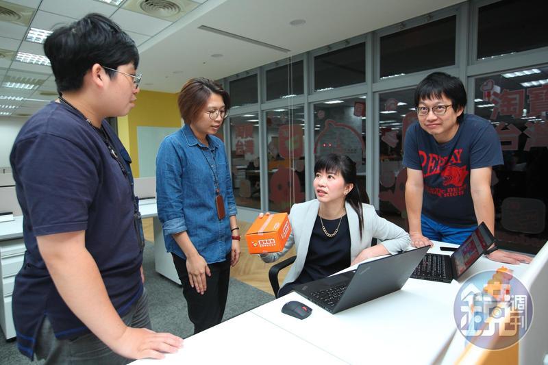 重新落地的淘寶台灣目前經營團隊約百人,近半數都是招商業務高手。