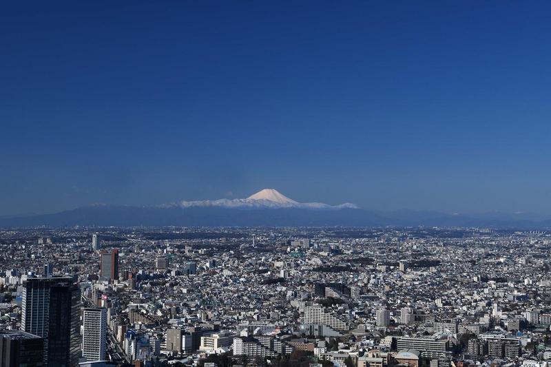 東京澀谷新地標、最高露天展望台「Shibuya Sky」擁有遼闊的開放視野。(Shibuya Sky提供)