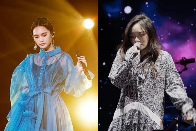 LaLa徐佳瑩跨年不趕場,獨家壓軸在台中演出;而楊丞琳將登上台中跨年舞台。(摘自楊丞琳臉書/徐佳瑩臉書)
