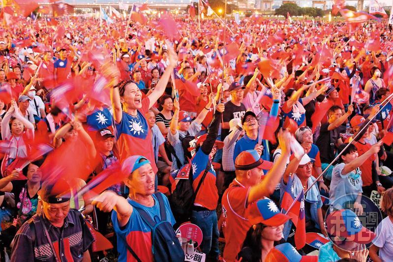 從去年底開始,全台掀起韓流狂潮,這群人以國旗衣做為辨識彼此的符號。