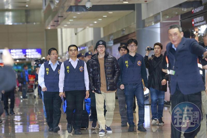 孫安佐關押260天後,在法庭上全數認罪,遭遞解出境返回台灣。(本刊資料照)