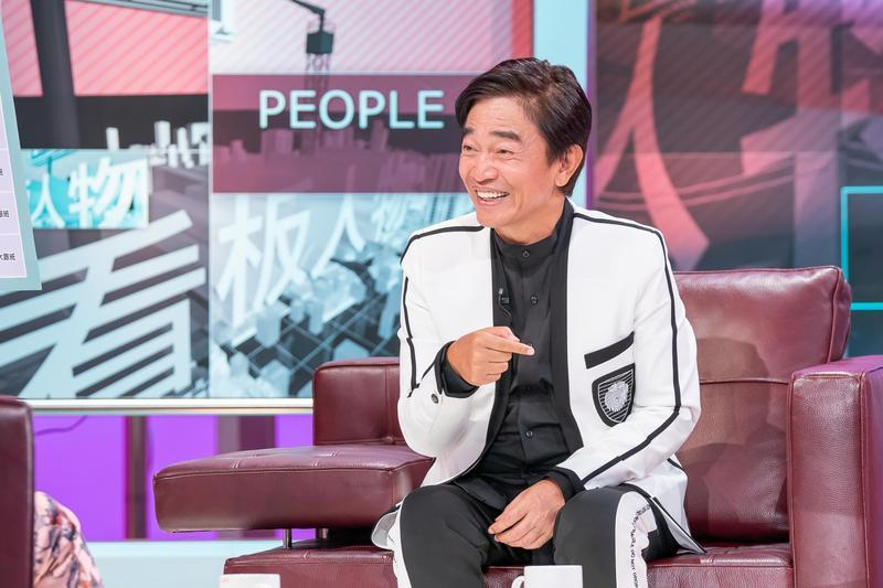 吳宗憲自嘲在演藝圈是個「標準箭靶」。(TVBS提供)