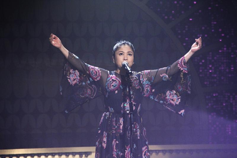 夏川里美來台宣傳即將在12月舉辦的演唱會。(年代提供)