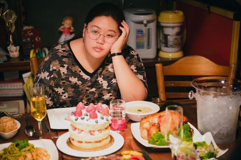 《大餓》取自導演本人的減肥歷程,讓女主角蔡嘉茵奪下台北電影獎最佳新演員,也入圍本屆金馬獎最佳新演員。(金馬獎執委會提供)