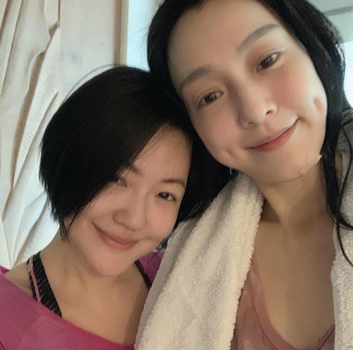 小S(左)心疼好友范瑋琪無辜遭網友圍剿。(翻攝自范瑋琪IG)